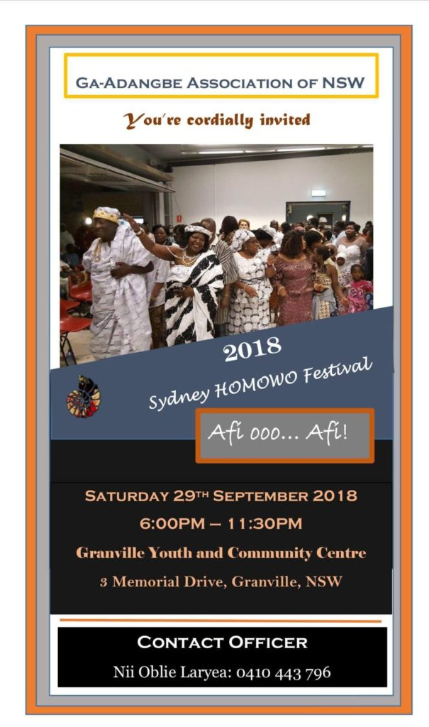 syndy Homowo on the 29th September